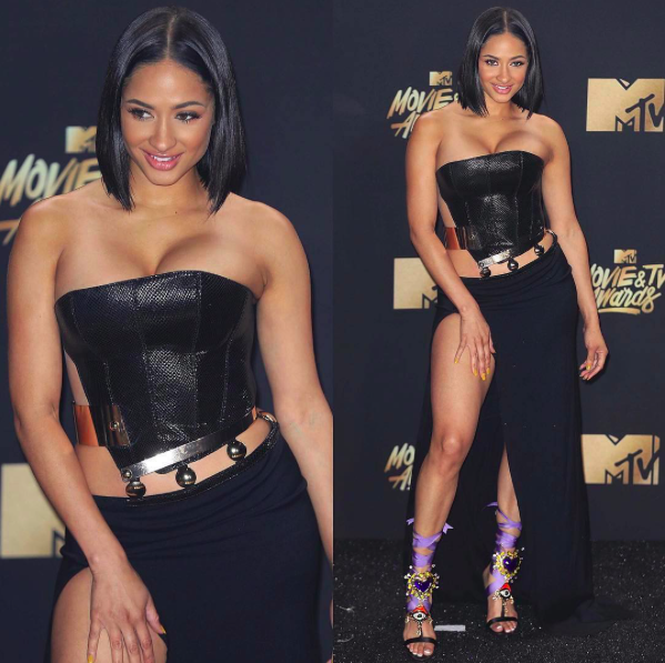 Digital super star ⭐️  @toribrixx  shines at the  @mtv  video awards red carpet wearing our designers ✨  #dress  made by our designer  @armanmorozov   #hewelry  made by our American designer  @sambacjewelry fashion provided by  #ivanbittonstylehouse  styled by  @styledbyambika  #whatsheiswearing  #ootd  #celebrotystyle  #fashiondesigner