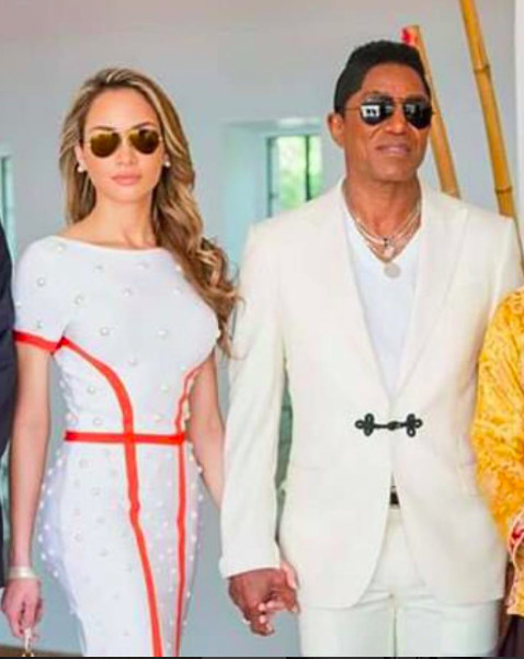 Breaking news! Spotted at the  @cannes2017  festival  @officialjermainejackson  and his beautiful girlfriend  #madayvelazquez  wearing a dress by our Canadian designer  @_narces  styled by  #teambitton   @leisastylediva  Fashion Provided by  #ivanbittonstylehouse