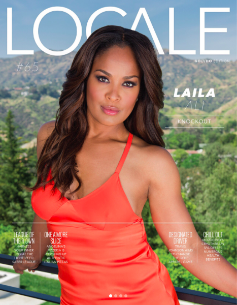 Stunning  @thereallailaali  looking fabulous for the cover of  @localemagazine  wearing our designers ✨ #jewelry  by our American designer  @sambacjewelry  styled by  @melissasouzastyles  fashion provided by  #ivanbittonstylehouse  #celebrity  #ali  #mohammedali  #magazine  #cover  #editorial  #fashiondesigner