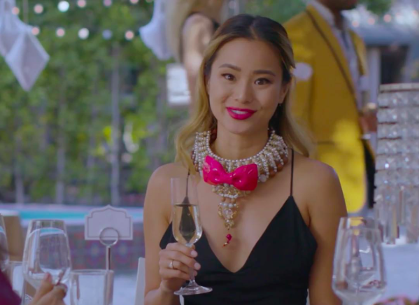 Actress  @jamiejchung  starring in series  @funnyordie wearing our designers  @keiichirosense  @sambacjewelry  Styled by  @francescaroth Fashion provided by  #ivanbittonstylehouse  #hollywood  #emergingdesigner  #actress  #jamiechung  #fashiondesigner  #ootd  #celebrity  #funnyordie