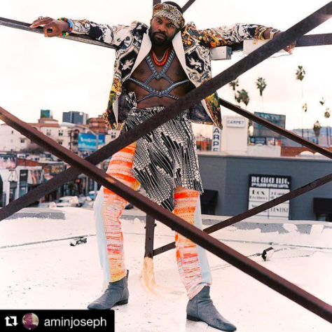 Actor  @aminjoseph from hit tv show  @snowfallfx  looking super dope wearing our designers for this fashion editorial  @barabas_men   @danrichters  @canellahostalcouture  styled by  @dapperafrika  fashion and location provided by  #ivanbittonstylehouse  #ootd  #style  #celebritystyle  #tvshow  #magazine  #cover