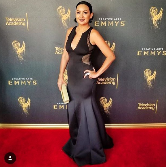 Emmy awards 2017 nominee  @jenfregozo  from her hit show  @rupaulsdragrace  on  @logotv  is looking extra fabulous in a dress by our designer from Barbados  @sgshannagall  jewelry by our line  @sambacjewelry  and a clutch by our Italian designer  @kilame  . Styled by  #teambitton   @lundynellerose  . Fashion provided by  #ivanbittonstylehouse