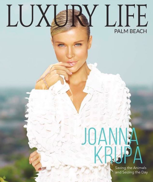 ivanbittonstylehouse Amazing cover editorial Done for Luxury Life magazine starring  @bravotv  tv star and supermodel  @joannakrupa  wearing our designer from Dubai  @shefali_couture  styled by  @styledbyambika  fashion provided by  #ivanbittonstylehouse
