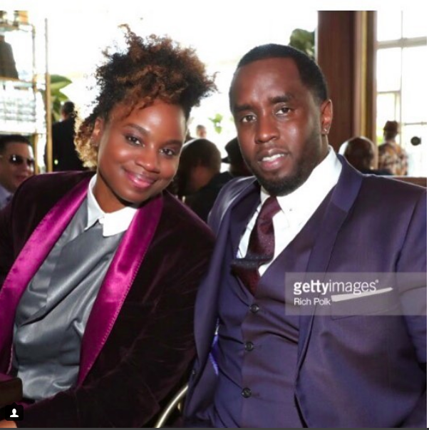 ivanbittonstylehouse Spotted!  @diddy  and goldenglobes nominee  #deerees  from hit movie  @mudbound  wearing our designer from Germany  @maigidah  styled by  @zerinaakers  Fashion provided by  #ivanbittonstylehouse