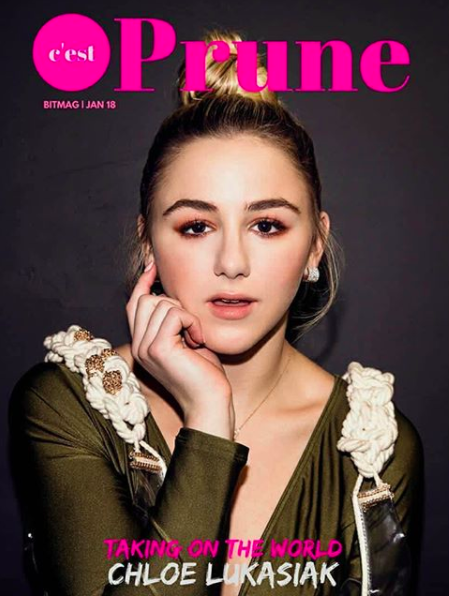 ivanbittonstylehouse Cover editorial done for  @prunemagazine  starring  @abcnetwork star  @chloelukasiak  from tv show  #DanceMoms  wearing our jewelry designer  @sambacjewelry  styled by  @michaelstmichael  fashion provided by  #ivanbittonstylehouse