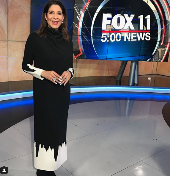 Fashion statement at  @foxtv  with news anchor super star  @devinenews  hosting the show while wearing our designers  @nuofficial  @sambacjewelry  styled by  #teambitton  @destinyenicole  fashion provided by  #ivanbittonstylehouse  #news  #fashion