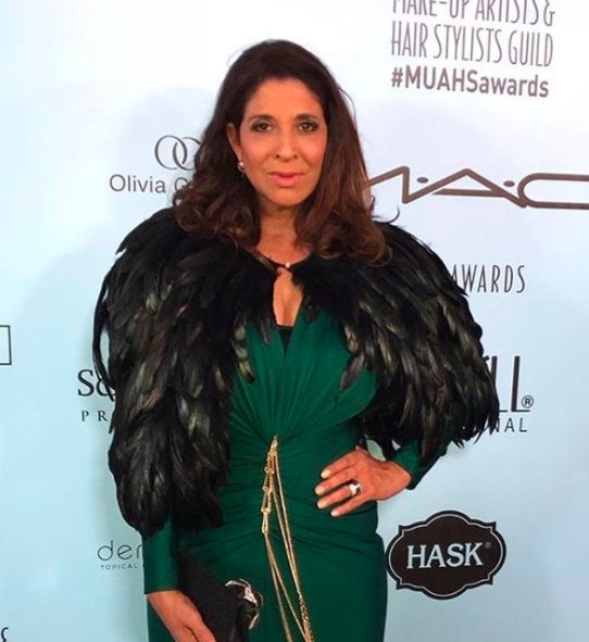 ivanbittonstylehouse American news Anchor Royalty  @devinenews  from  @foxnews  looking ravishing in a dress by our designer  @evamejl  , a jacket by our designer  @theroyalsparis  and a clutch by our Italian designer  @ottavianiofficial  At the  #MUAHSAWARDS  Styled by  #teambitton  @aarongomezp  Fashion provided by  #ivanbittonstylehouse