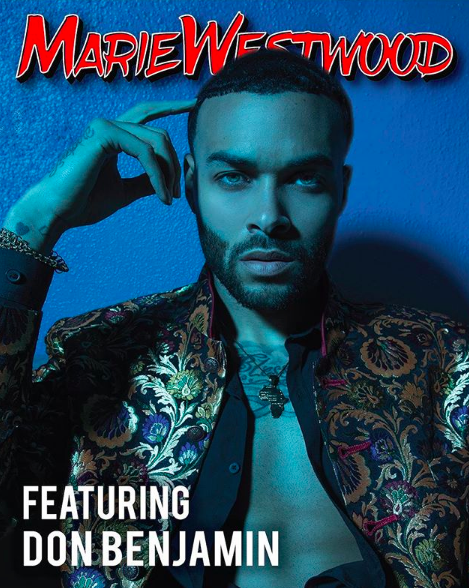 ivanbittonstylehouse Cover Done for  @mariewestwoodmag  featuring  @antmvh1 star and  @youtube  celebrity  @itsdonbenjamin  wearing our gorgeous designer from Pakistan  @amiradnanofficial  ,  @roseberger.nyc   @barabasmen  styled and assisted by  #teambitton   @styledbyyvonne  @stef.gallegos  Rohini fashion provided by  #ivanbittonstylehouse