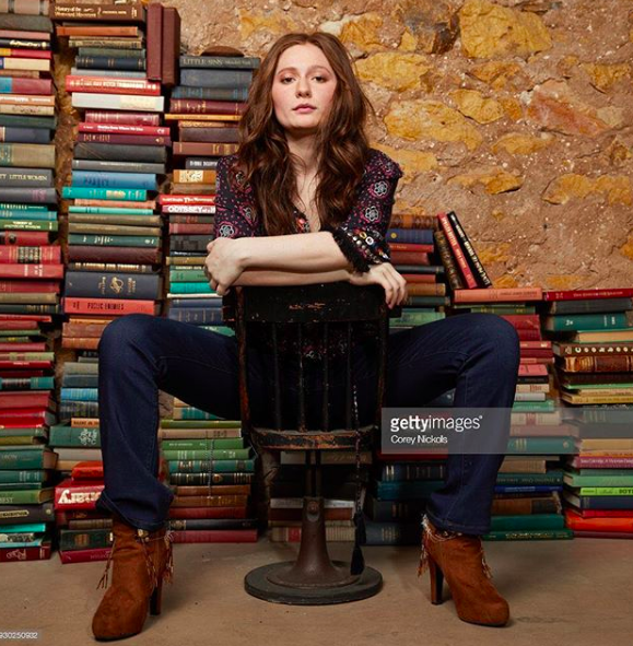 ivanbittonstylehouse We love ❤️  @netflix star from  #1  hit show  @shameless  @emmakenney  amazing looks while posing for her Press junket to promote her new most anticipated tv show  @roseanneonabc Emma is rocking our amazing boots made by our designer  @novoselsavic  styled by  @michaelstmichael  fashion provided by  #ivanbittonstylehouse