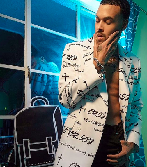 ivanbittonstylehouse  #bts  magazine editorial with 'America's next top model' winner and Digital superstar  @itsdonbenjamin  featuring a coat by our designer  @crossforgod  and a bag by our designer  @jumpfrompaper  Styled by  #teambitton   @styledbyyvonne  Fashion provided by  #ivanbittonstylehouse   Delete Comment