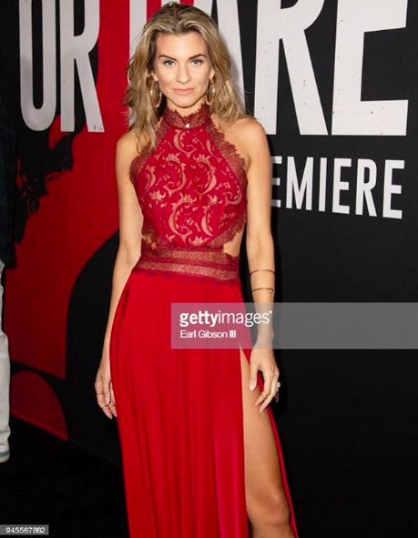 Digital celebrity and tv host  @iamrachelmccord  giving us fierceness wearing our designer from Australia  @abyssbyabby  at the red carpet premiere of movie  @truthordaremovie styled by  #teambitton   @aarongomezp fashion provided by  #ivanbittonstylehouse  #fashion  #celebrity  #style  #fashiondesigner