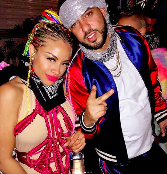 Spotted at Coachella!  @frenchmontana  and his pop singer co star from their hit song 'Champagne'  @charissemills  wearing a rope jumpsuit by our designer  @msbrittanyduet  and boots by our designer  @egidio_alves_luxury_shoes Styled by  #teambitton   @tori_jeannine_xoxo Fashion provided by  #ivanbittonstylehouse