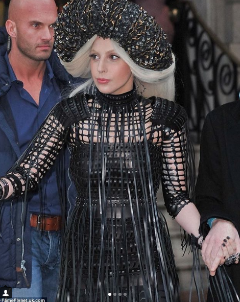 The always fabulous  @ladygaga  wearing our London designer 🇬🇧  @cindyzhangofficial  styled by  @nicolaformichetti  Fashion available at  #ivanbittonstylehouse  #fashiondesigners  #celebrity  #style