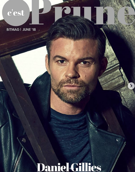 Cover alert !  @thecwtvd  'the Vampire diaries' superstar now starring on  @theoriginals  ,  @mr.danielgillies  aka  #elijahmikaelson looking super hot wearing our designers from France  @noweaknessparis  and from Japan  @fortunatokyo  styled by  @michaelstmichael  fashion provided by  #ivanbittonstylehouse  #fashiondesigner  #style  #celebrity  #magazine