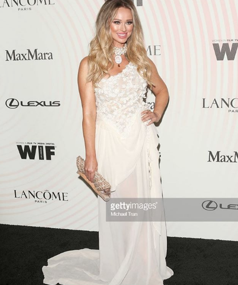 Absolutely stunning ! Actress and make up mogul  @katarinavanderham  graces the  @womeninfilmla  red carpet wearing our designers  @hayariparis   @ottavianiofficial styled by  #teambitton   @aarongomezp fashion provided by  #ivanbittonstylehouse  #fashiondesigner
