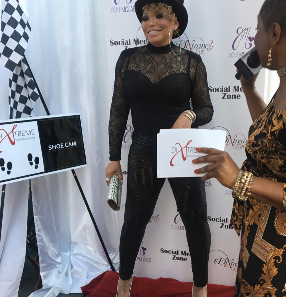 Legendary TV star  @tishacampbellmartin  sizzles at the red carpet of the  @hotstiletto  foundation in a pair of shoes by our designer  @novoselsavic  styled by  @_mrcartier Fashion provided by  #ivanbittonstylehouse