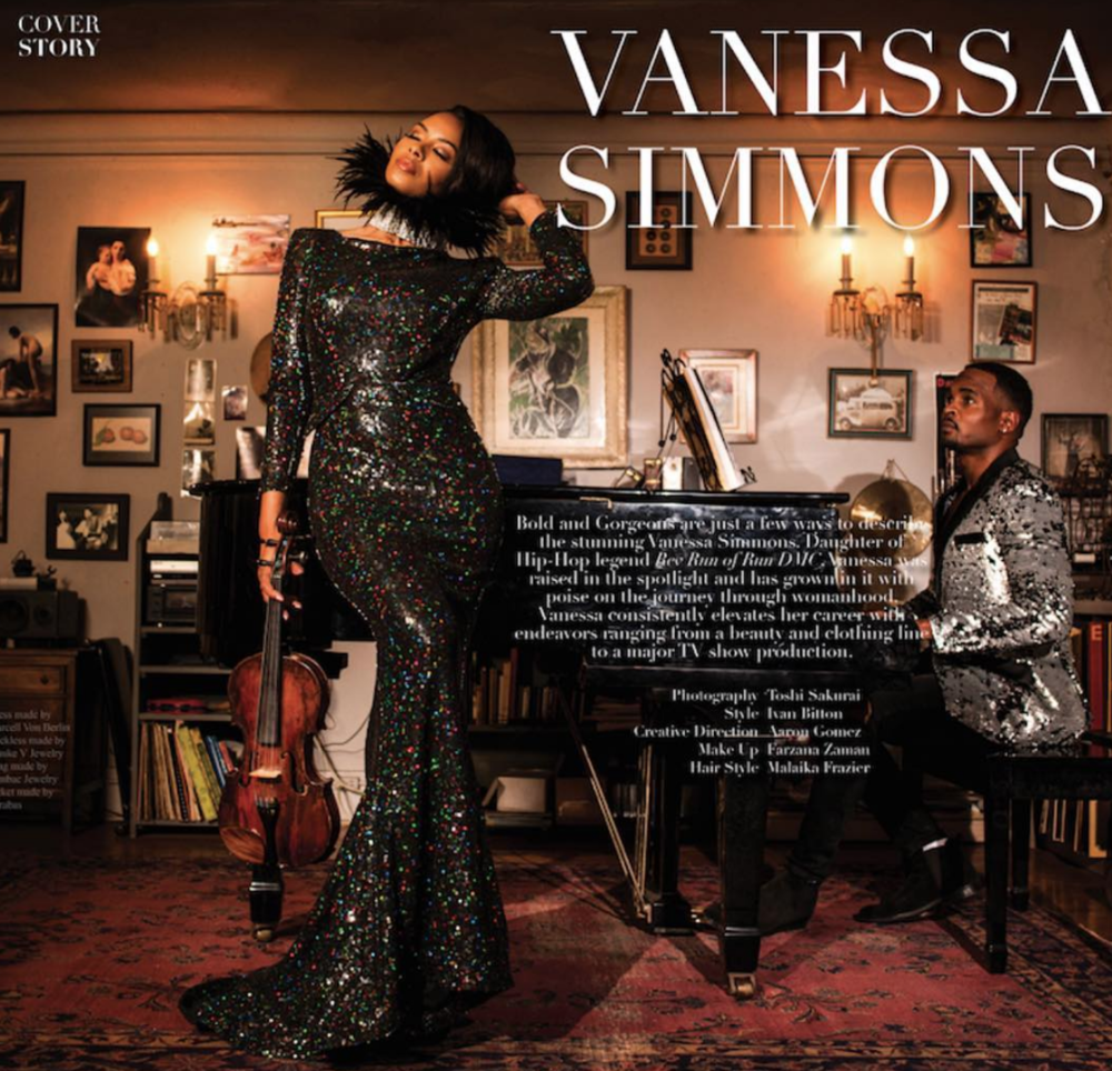 Hip hop royalty and  @wetv  star from hit show  @guhh_wetv 'Growing up hip hop'  @vanessajsimmons gracing the pages of  @mariewestwoodmag in this fantastic editorial featuring our designers  @barabasmen   @sambacjewelry  @maukevjewelry  Styled and produced by  @aarongomezp  Fashion provided by  #ivanbittonstylehouse
