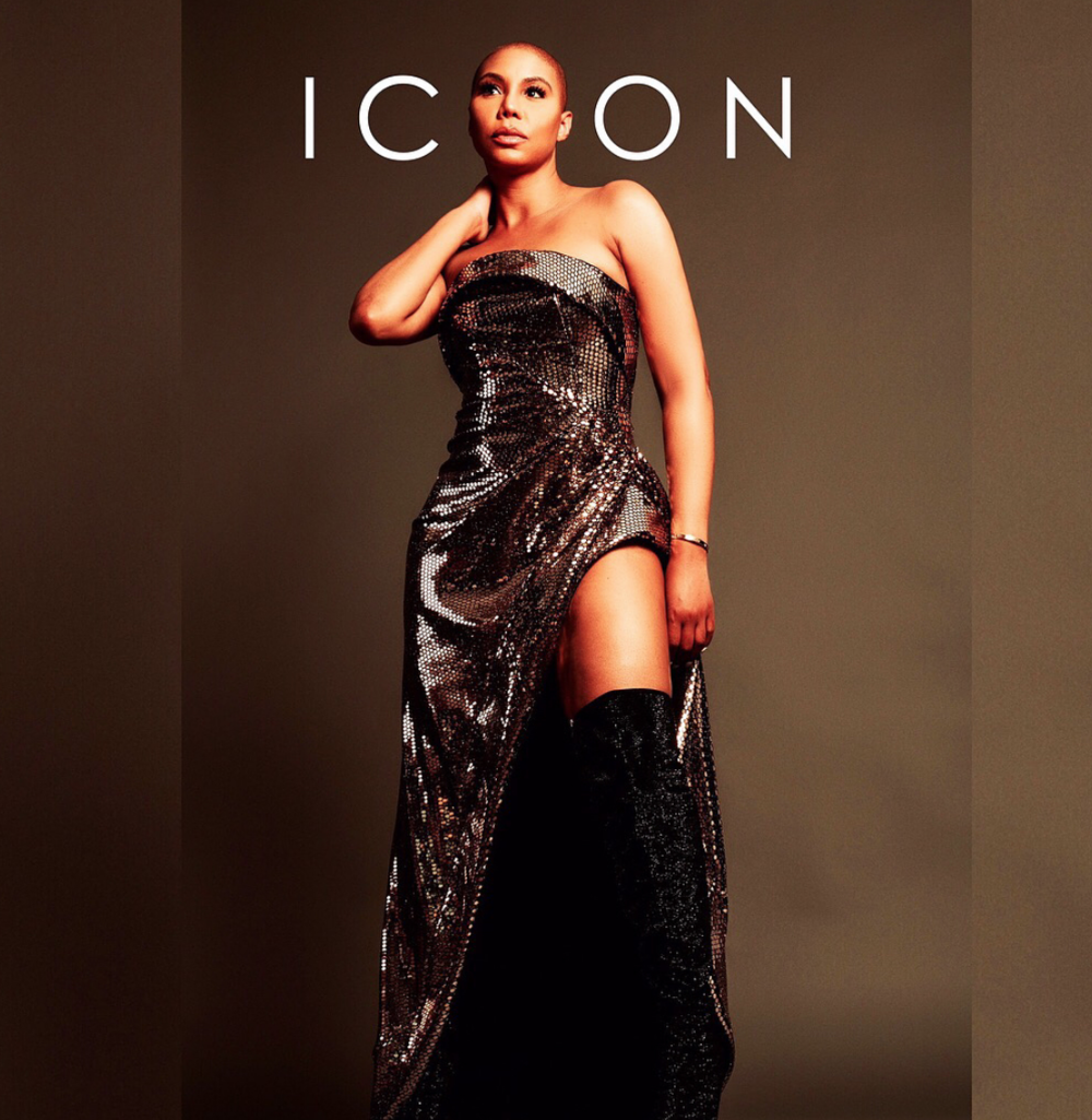 Absolutely stunning! Pop singer and tv super star  @tamarbraxton  breaking barriers for the cover of  @iconmagazine  wearing exclusively our designers  @aelkemi_inc (managed by  @a.us_official ) and  @sambacjewelry  styled by  @icontips fashion provided by  #Ivanbittonstylehouse