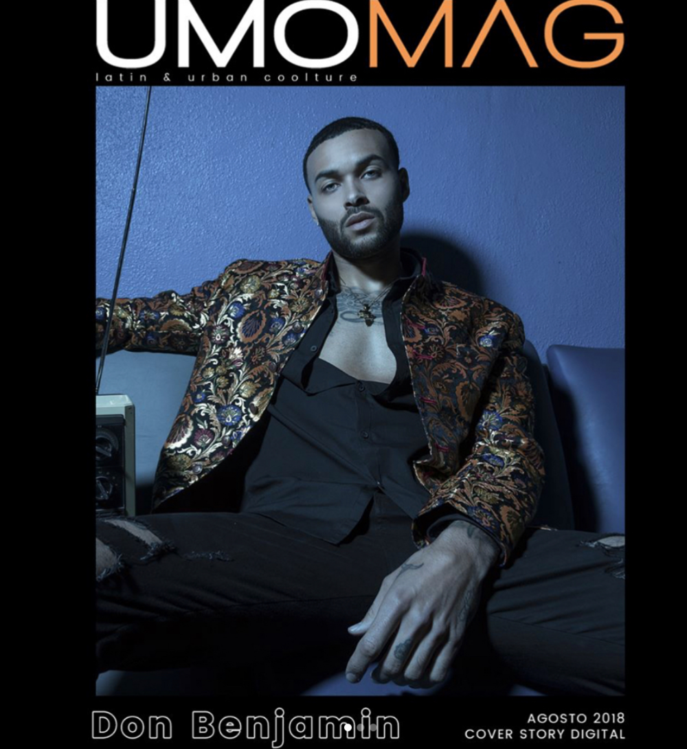 Cover alert!  @vh1 star  @itsdonbenjamin  from hit show  @antmvh1  gracing the cover of  @umomag in this editorial featuring our designers  @amiradnanofficial   @roseberger.nyc  and  @jewelupbyjessica   @styledbyyvonne Fashion provided by  #ivanbittonstylehouse