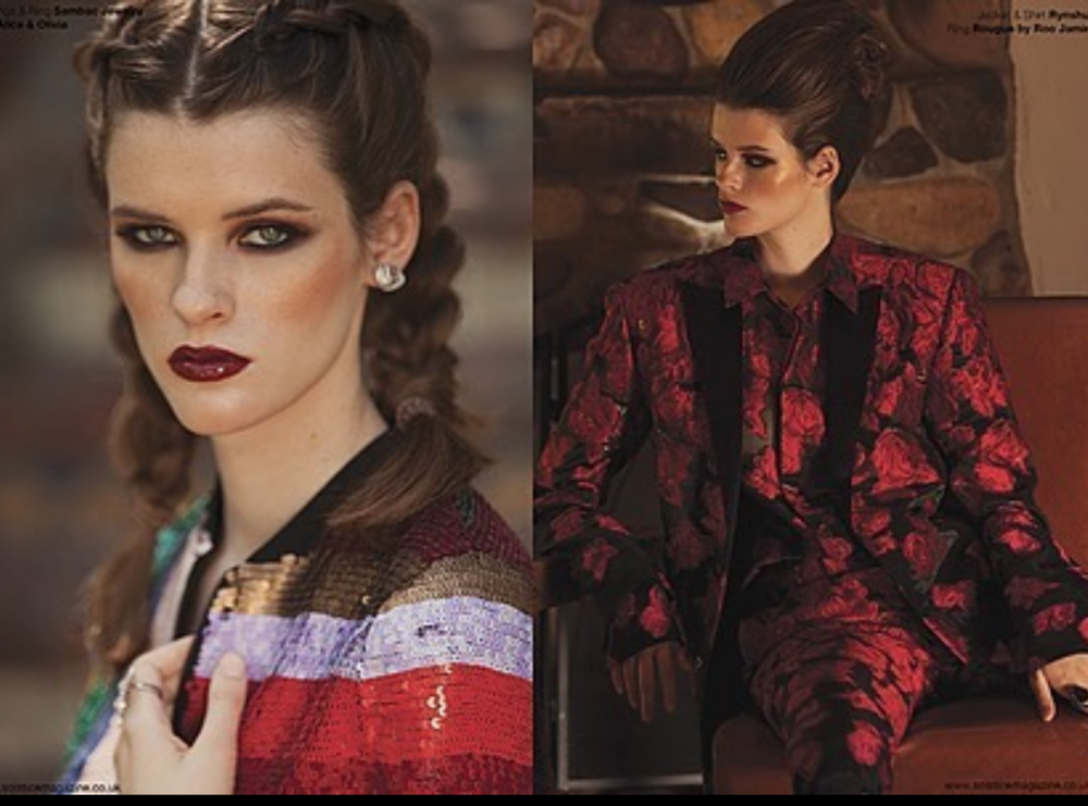Glamorous editorial Done for British leading fashion magazine  @solstice_mag  _mag featuring our fabulous designers  @rynshu   @sambacjewelry  @rougebyroojamir  Styled by  #teambitton  @aarongomezp  fashion provided by  #Ivanbittonstylehouse