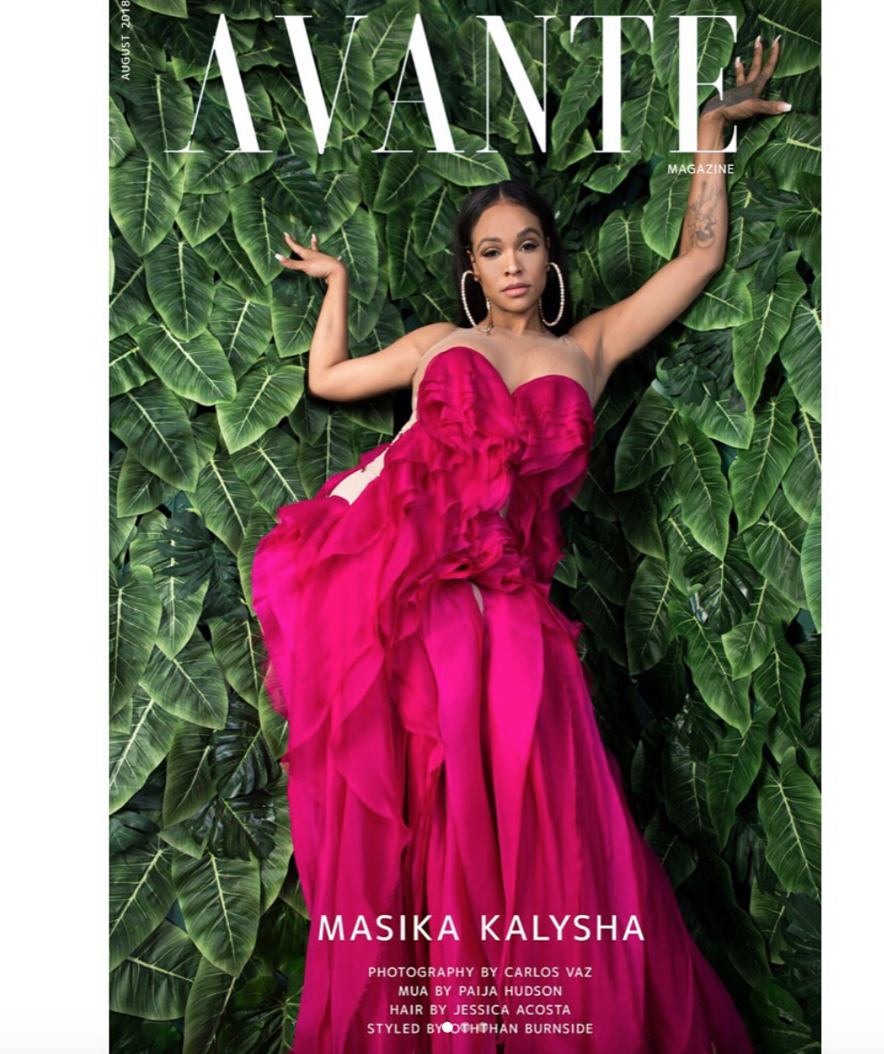 Singer  @masikakalysha  gracing the cover of  @avante_magazine  wearing ur designers  @matijavuica   @novoselsavic   @zoanash styled by  @otheezystyledit  fashion provided by  #ivanbittonstykehouse