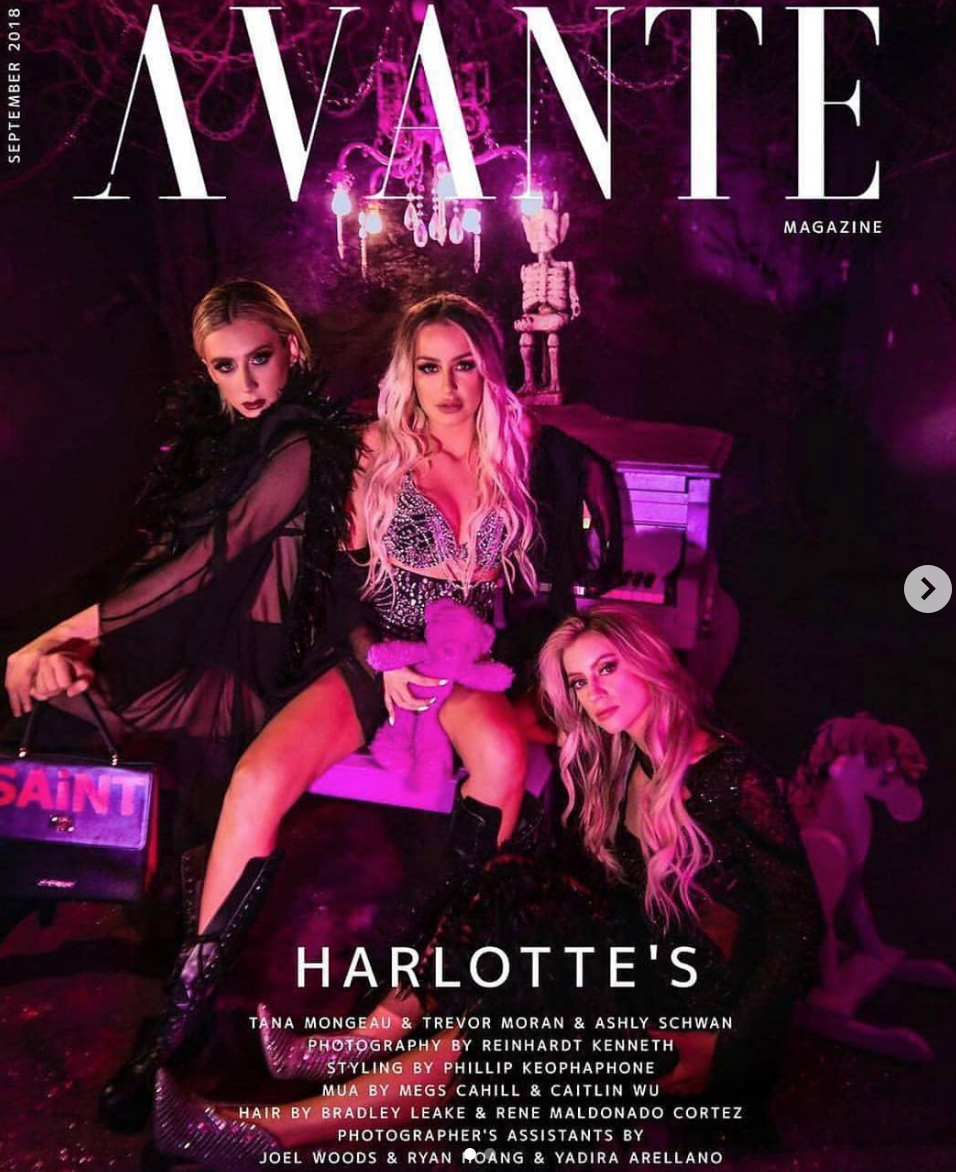 Cover Alert!  @avante_magazine  new edition is out! Featuring internet superstar and  @bellathorne  's girlfriend  @tanamongeau wearing our designer from Brazil  @patricia_nascimento  Styled by  @fresh_philly  Fashion provided by  #ivanbittonstylehouse