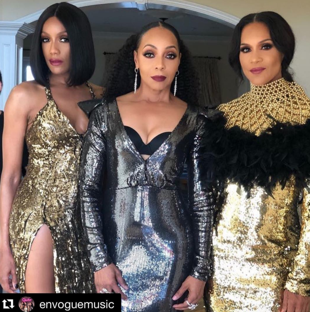 #bts  fashion editorial with the iconic band  @envoguemusic  for  @mariewestwoodmag cover story for their Las Vegas residency!! Featuring our designers  @tinasummerslabel   @aphiasakyi  @theroyalsparis   @sambacjewelry  @anyaliesnik  Produced by  @aarongomezp Styled by  @ivanbitton  and  @bluecollarsquad  assisted by  @mareeyuhh._  Fashion provided by  #ivanbittonstylehouse