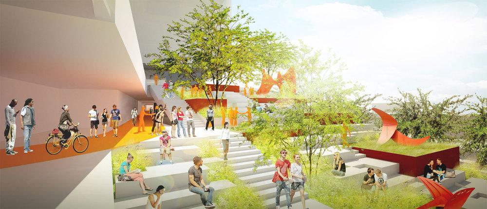 TINA CHEE landscape studio_ArtCenter College of Design Masterplan_sculpture garden steps.jpg