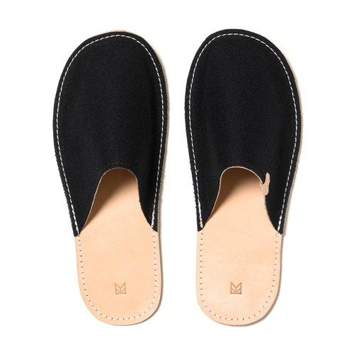739eebc4b Home Slippers Wool (Black) — MAPLE