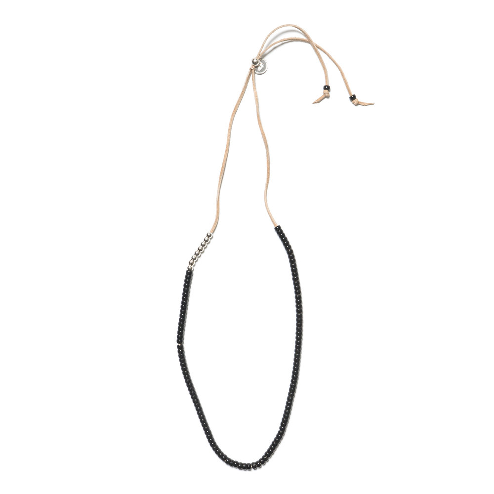 PACIFIC NECKLACE BLACK $155.00