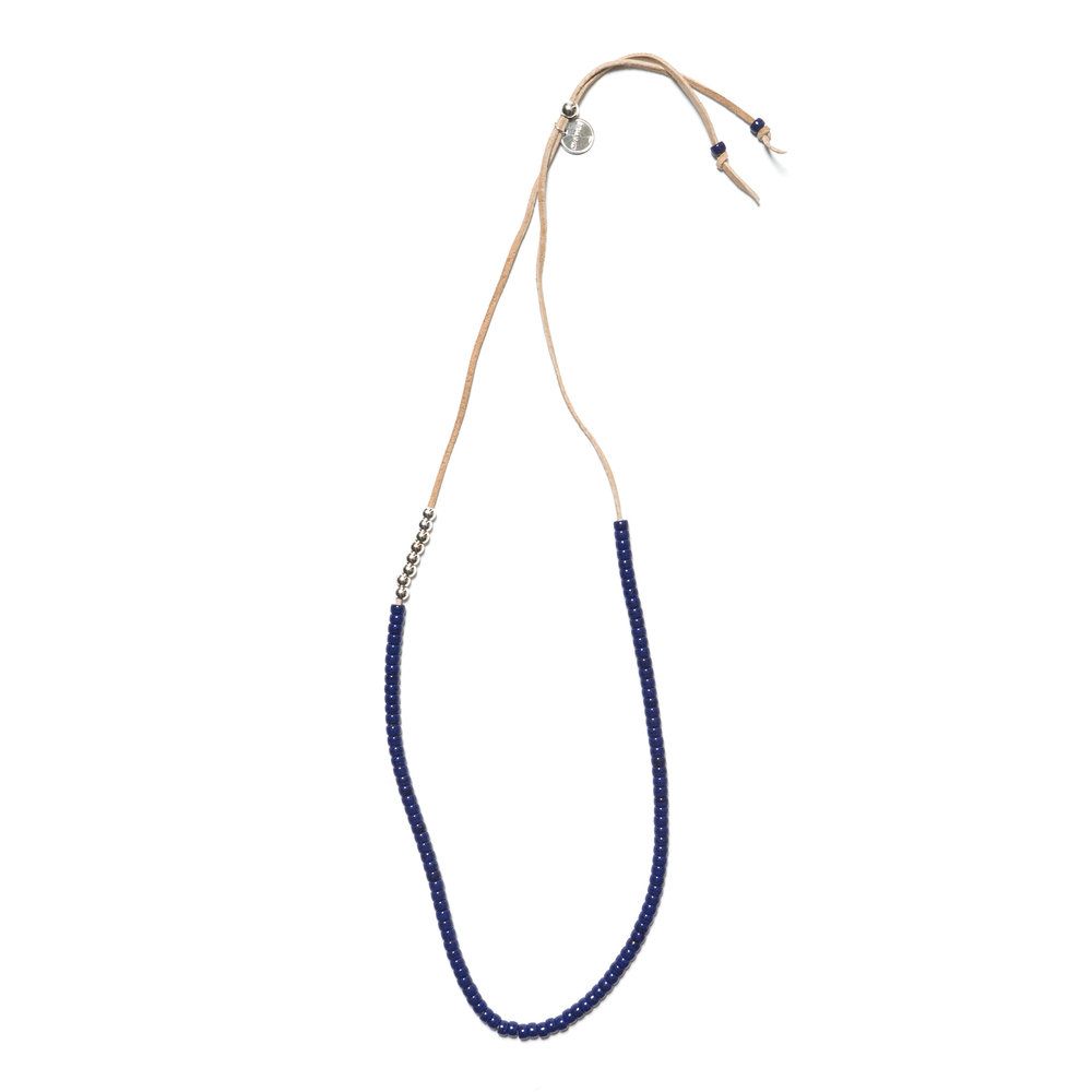 PACIFIC NECKLACE NAVY $155.00