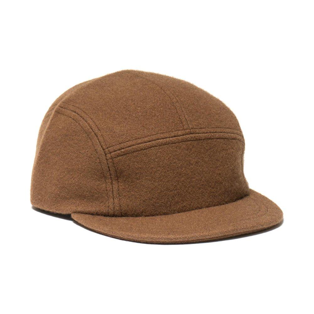 WOOL TRAIL CAP BROWN $100.00