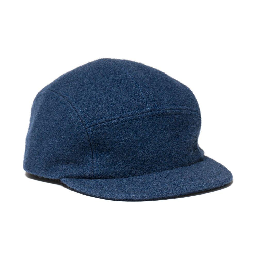 WOOL TRAIL CAP BLUE $100.00