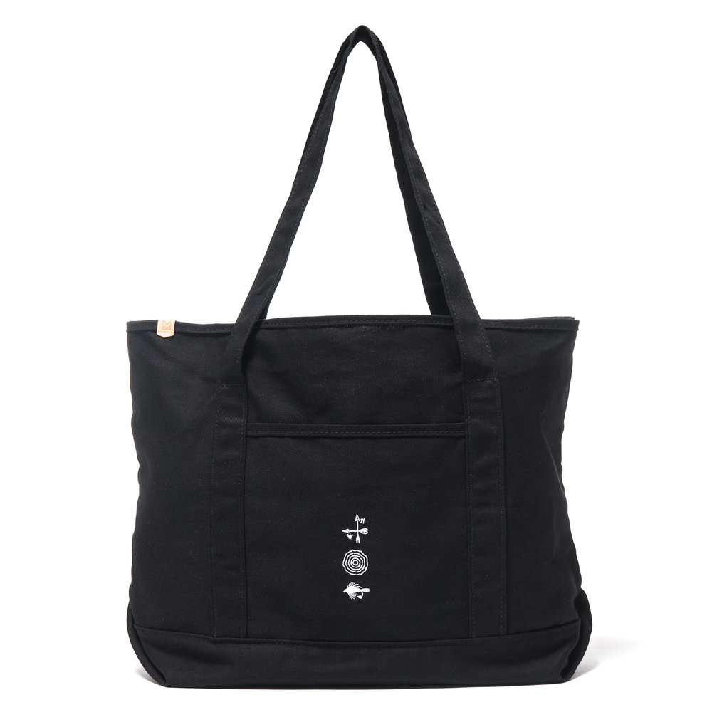 GROCERY TOTE BLACK $148
