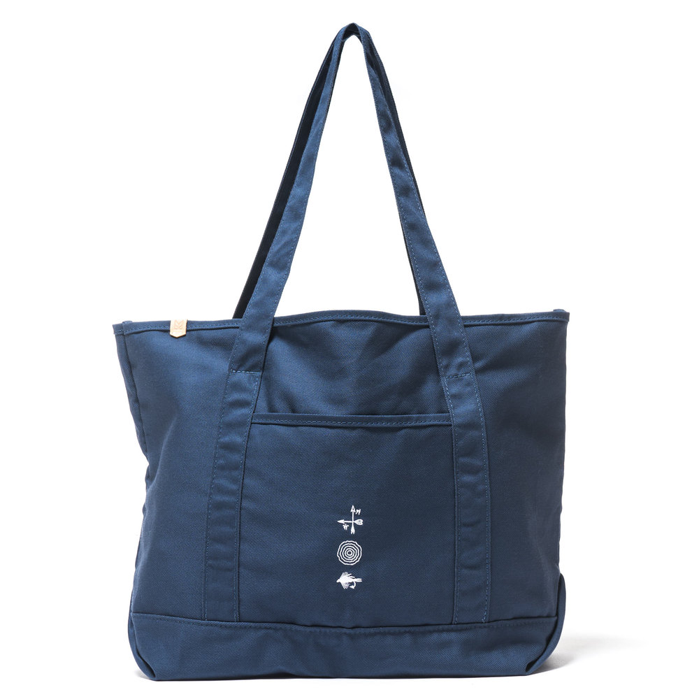 GROCERY TOTE NAVY $148