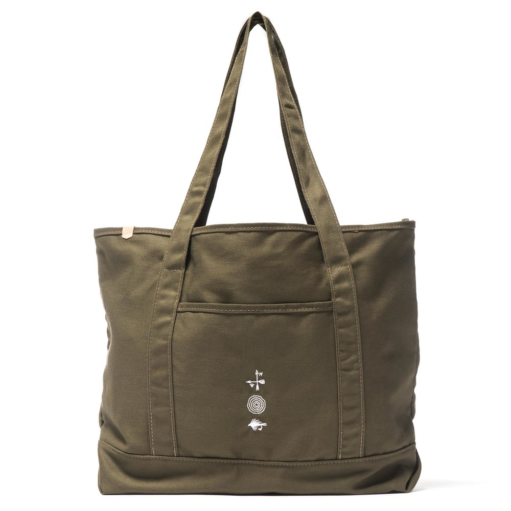 GROCERY TOTE OLIVE $148
