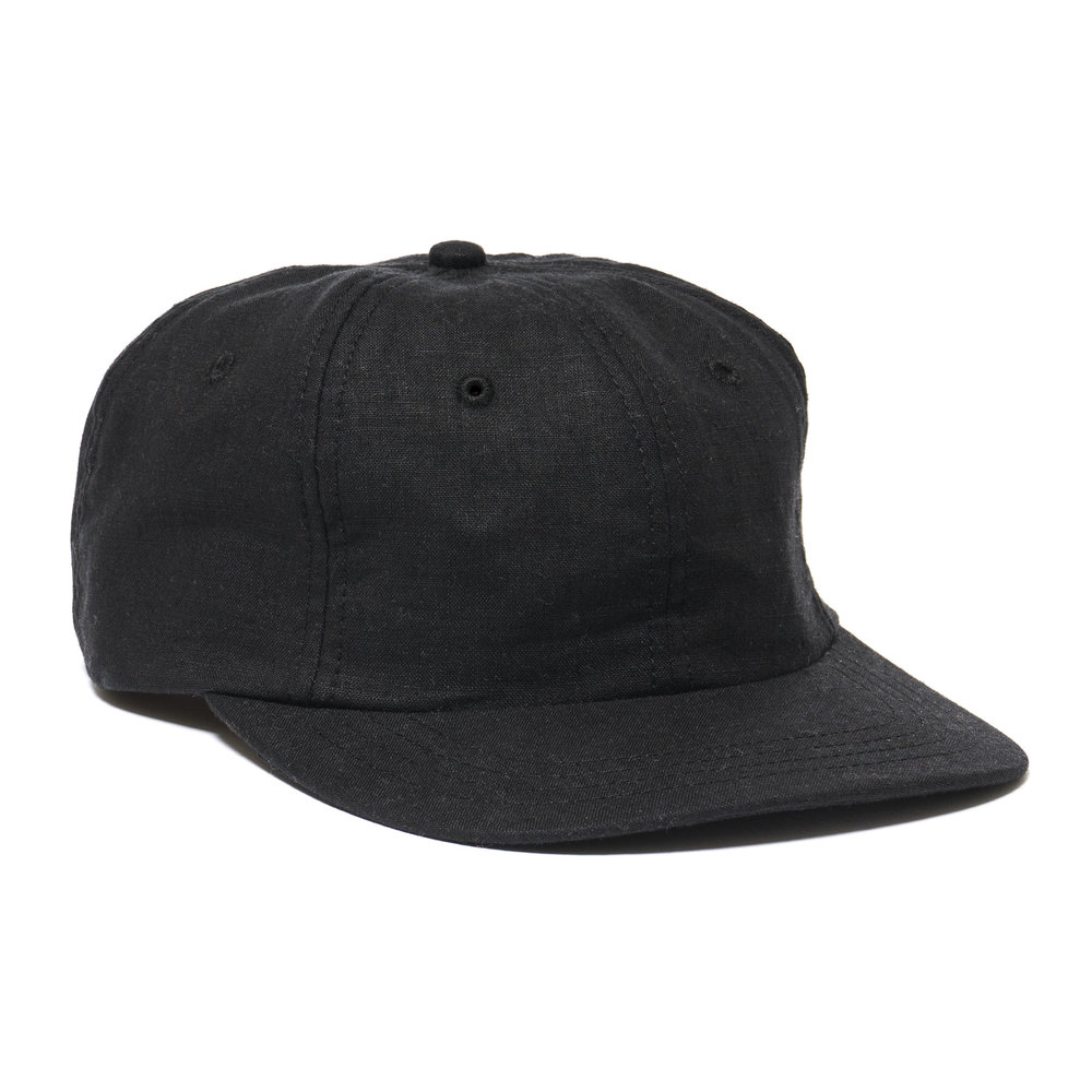 LINEN MESA CAP BLACK $98