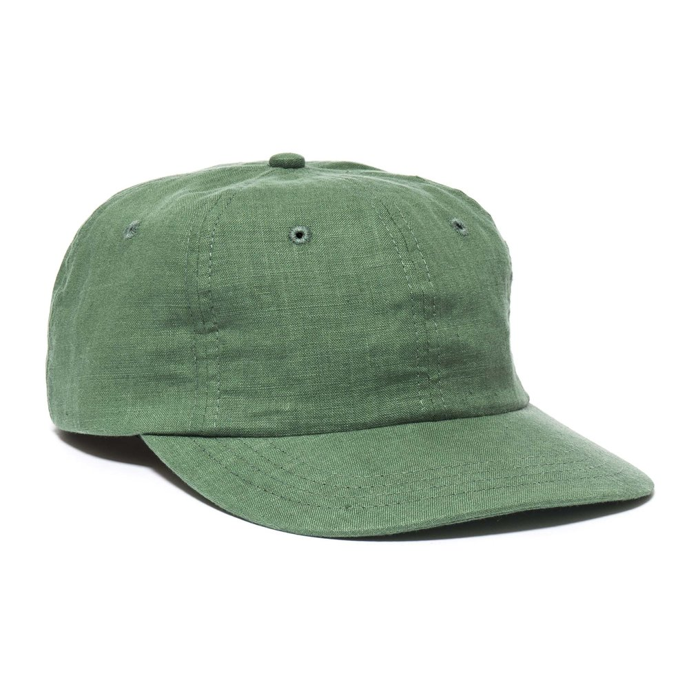 LINEN MESA CAP GREEN $98