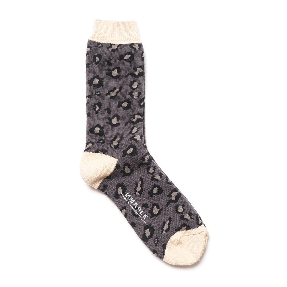 SAFARI SOCK CHARCOAL $50