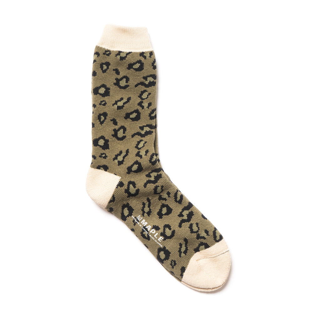 SAFARI SOCK OLIVE $50