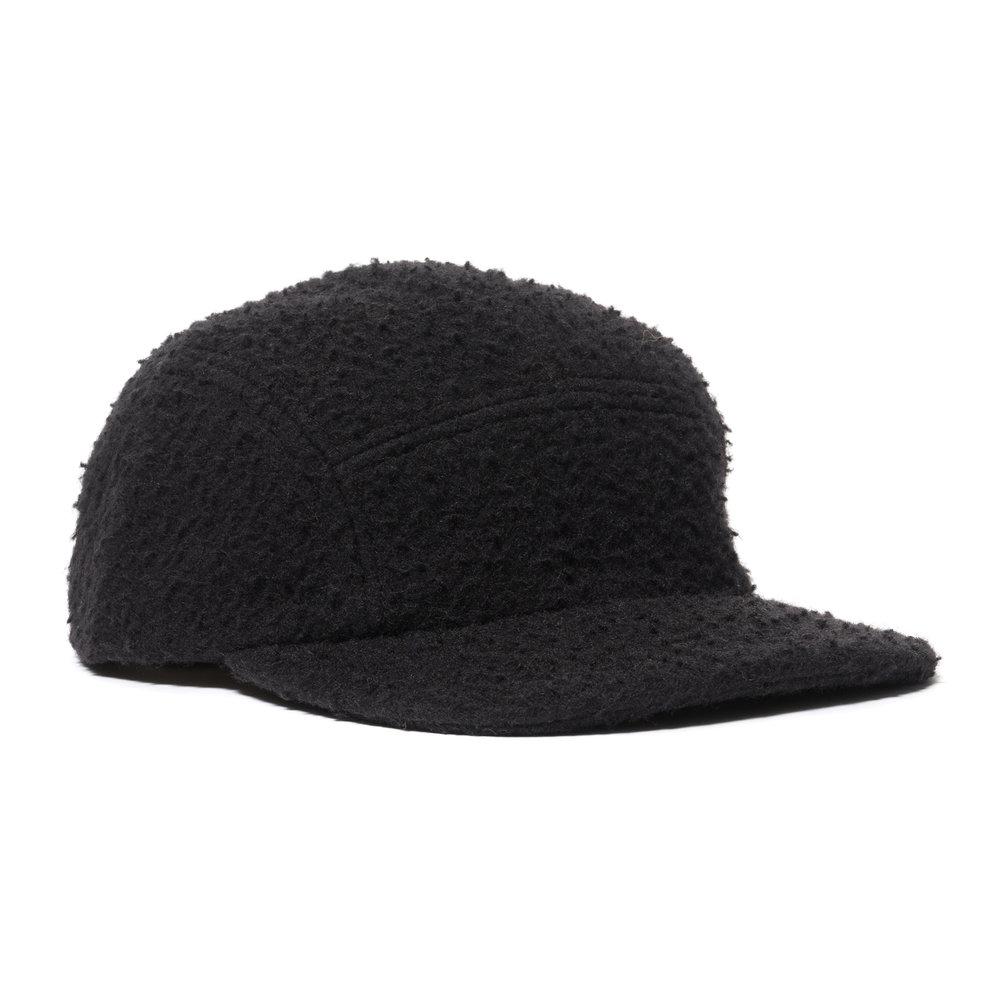 CASENTINO WOOL TRAIL CAP BLACK $120