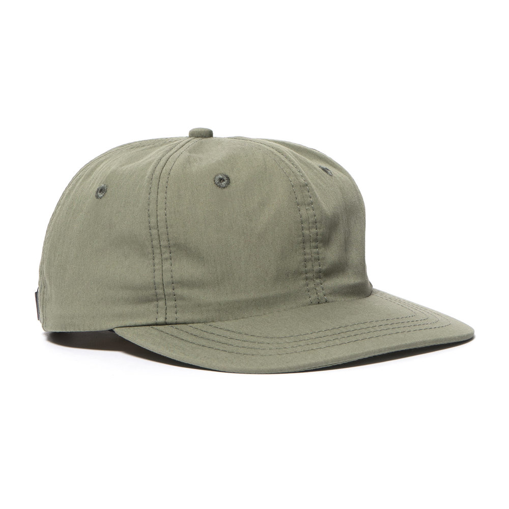 WEATHERCLOTH BALL CAP OLIVE $100