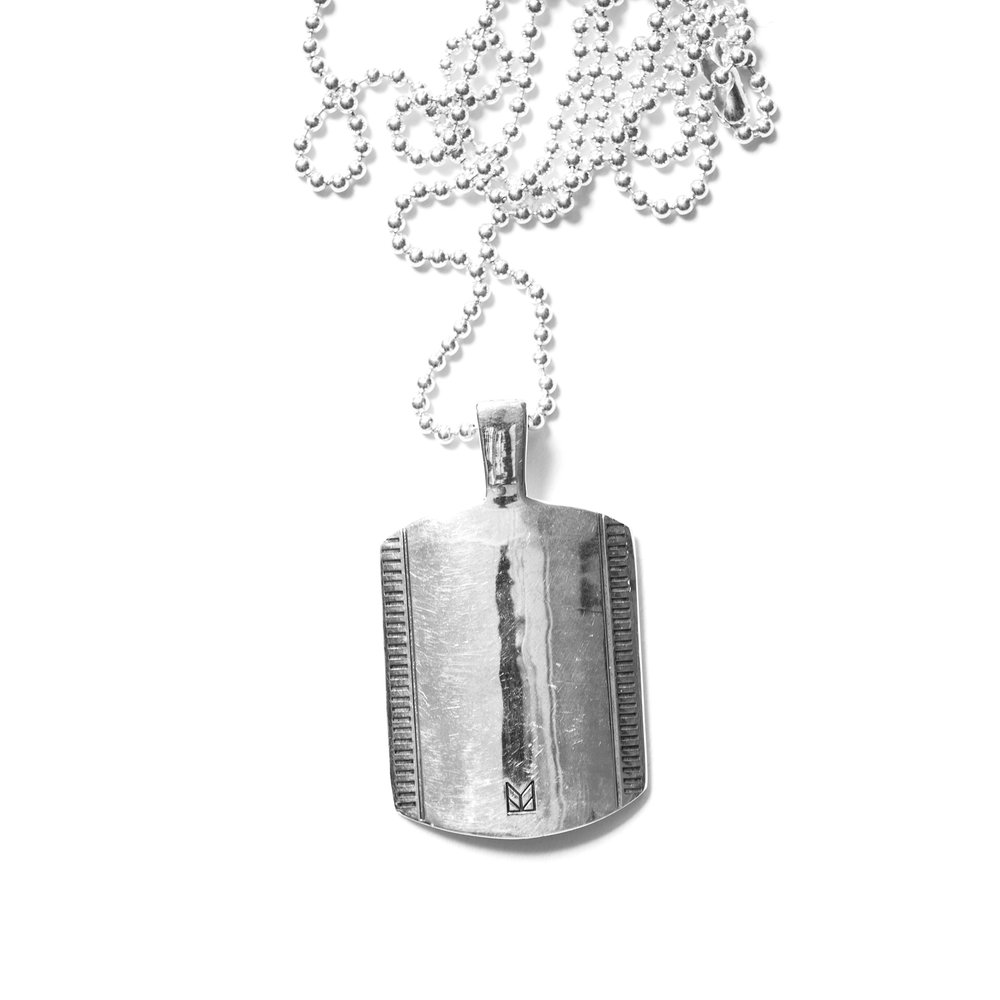 DOG TAG PENDANT $225
