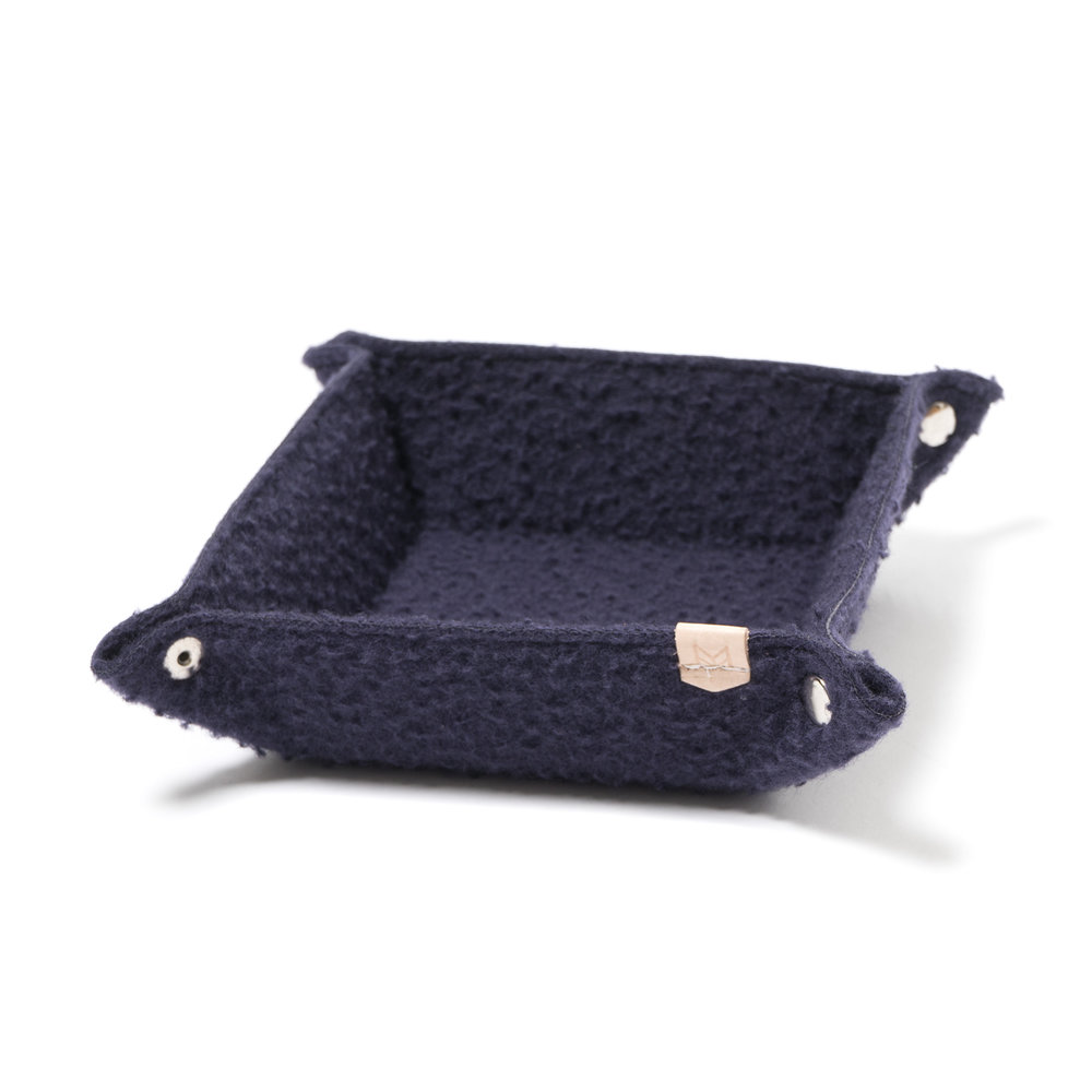 CASENTINO WOOL DESK TRAY $130
