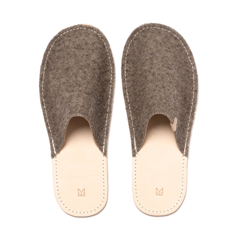 CASENTINO WOOL SLIPPERS $195