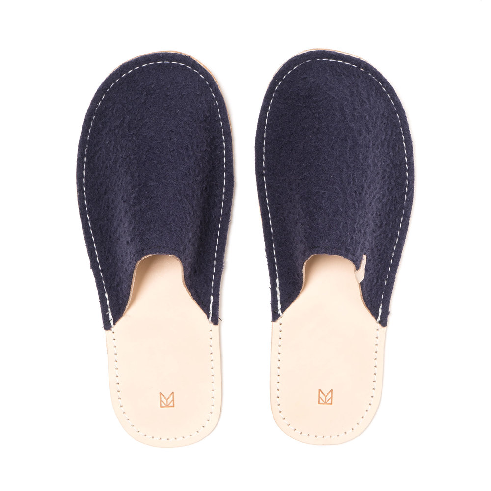 CASENTINO WOOL HOUSE SLIPPERS $195