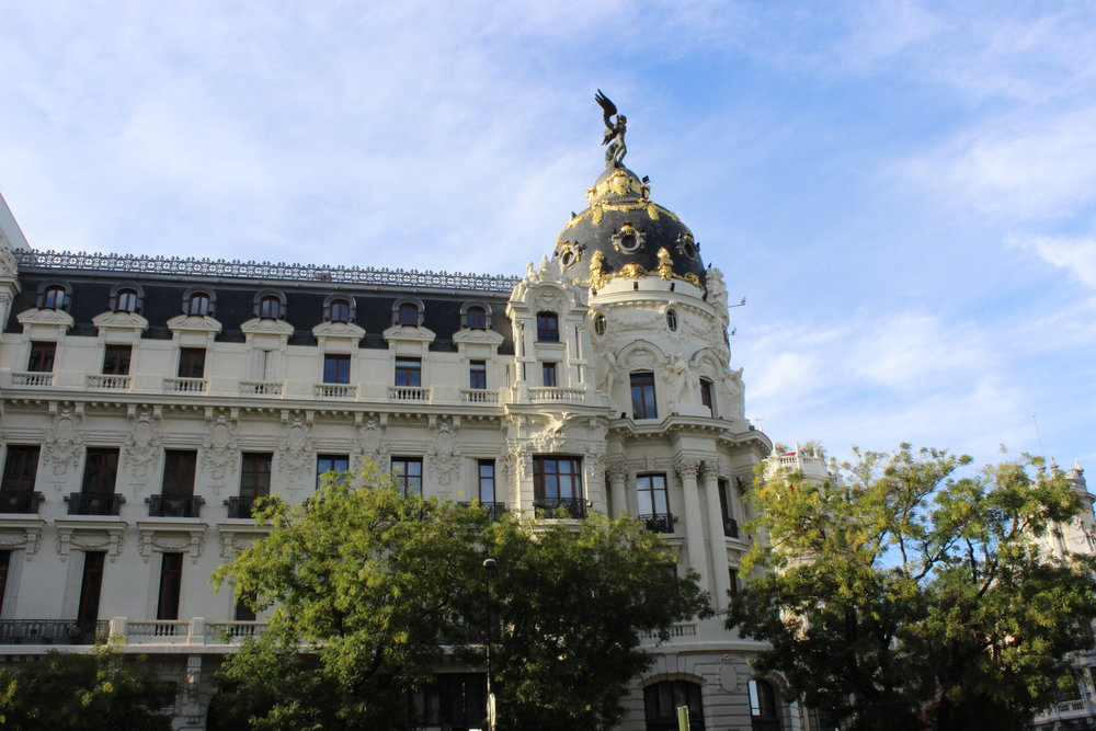Architecture on Gran Via can't be missed