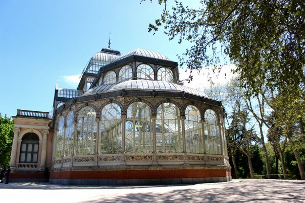 Crystal Palace in Retiro Park