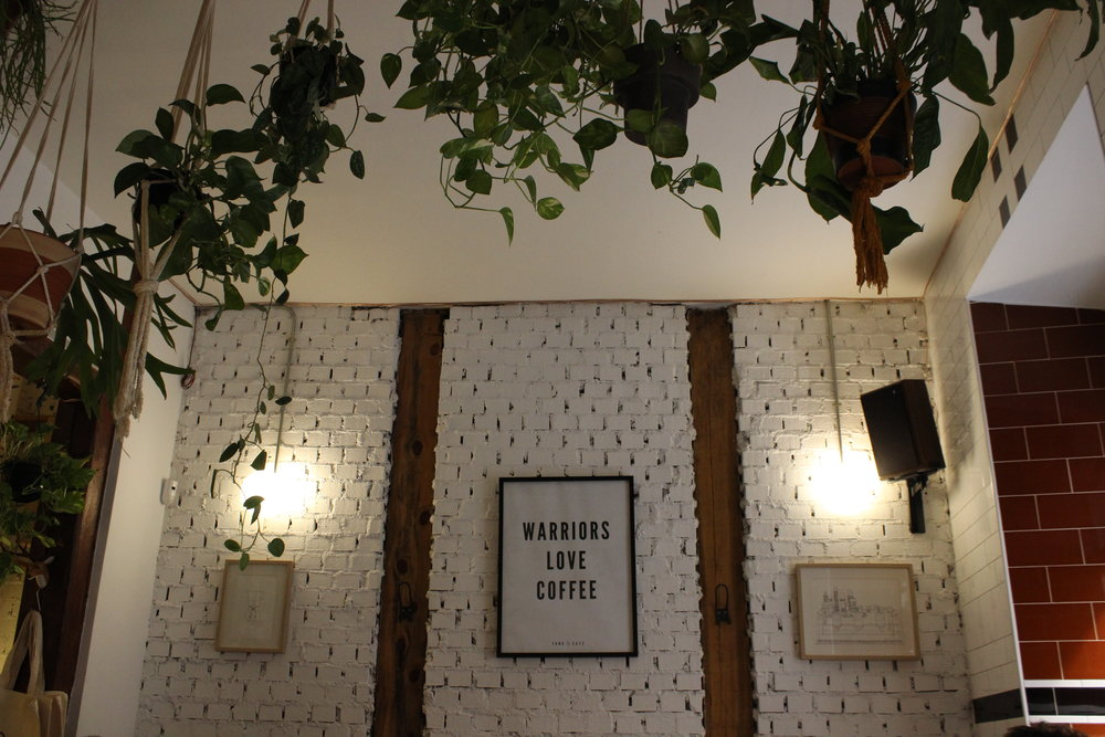 One of the best Madrid coffee shops, Toma, in Malasaña