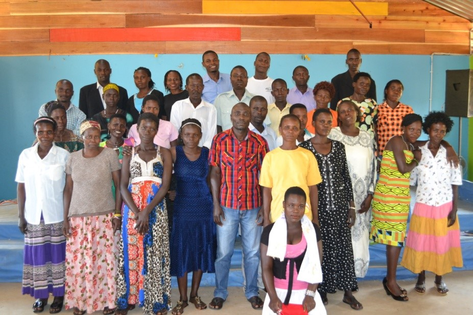 The School for Life Adult Literacy Program students and teachers.